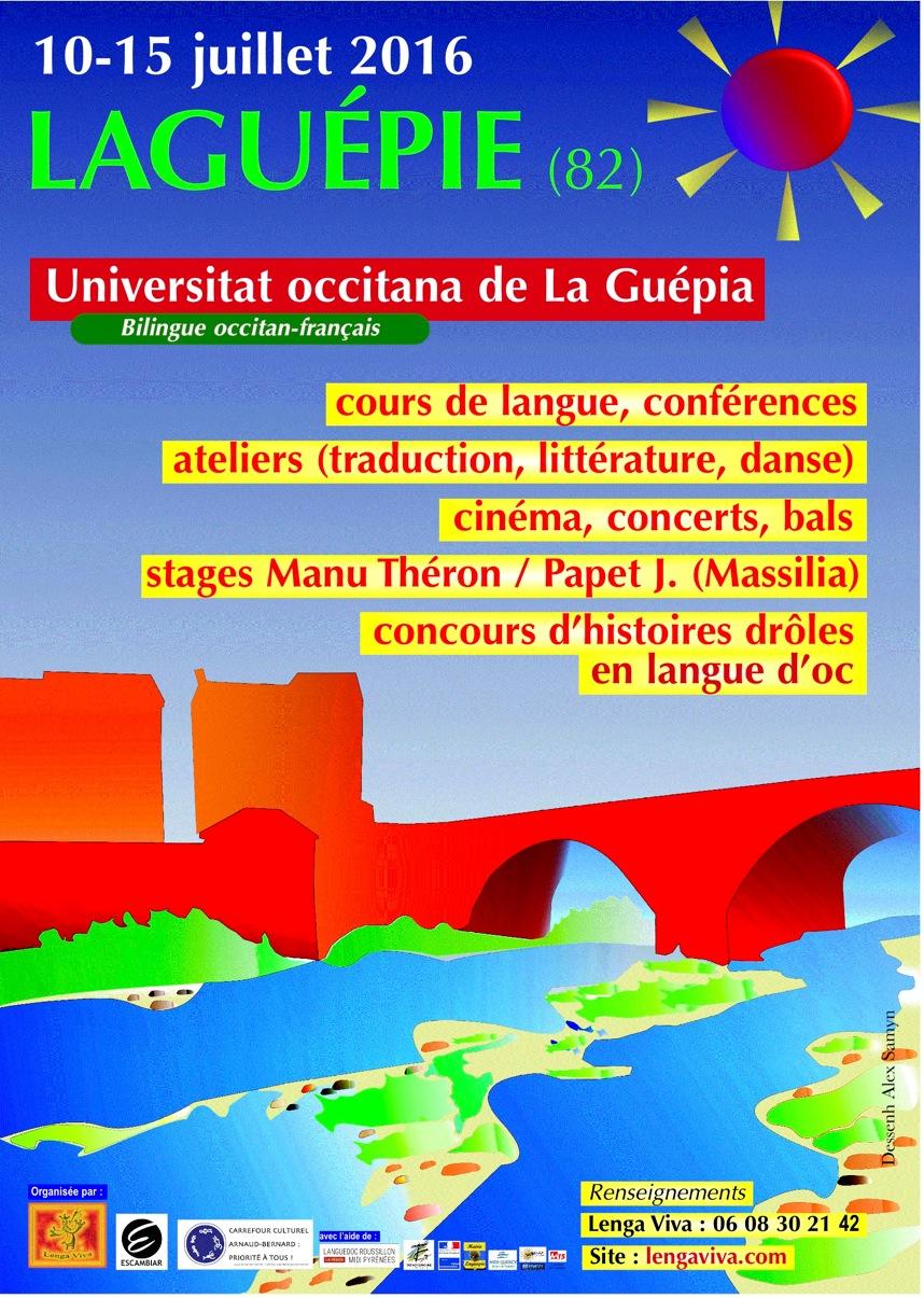 Affiche Universitat Oc Laguépie 2016-A3