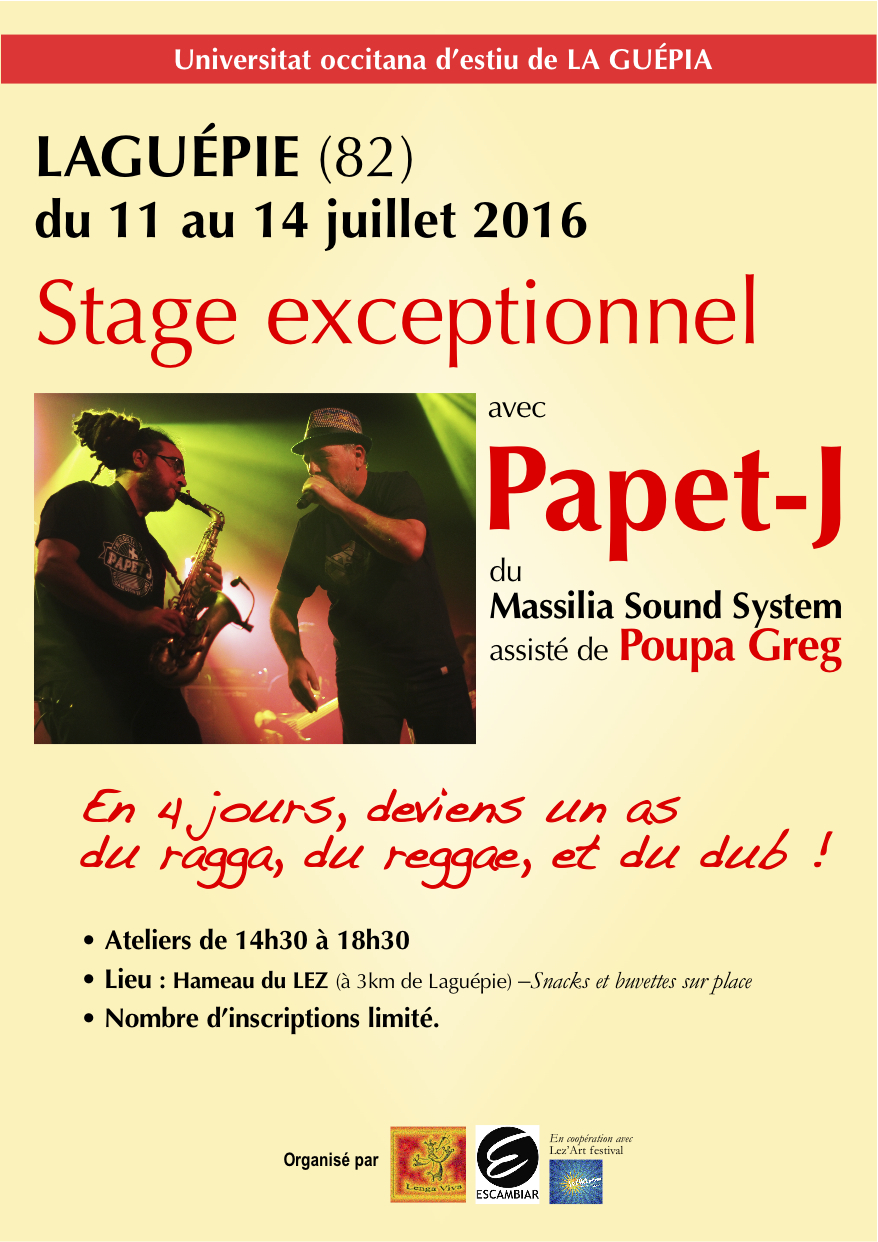 Stage Papet-J laguépie 2016 A5 Recto
