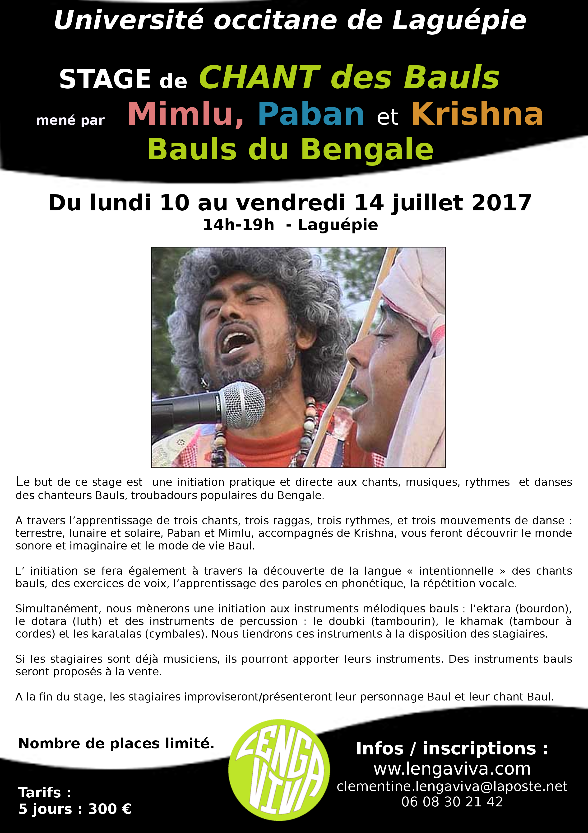 Tract Stage Bauls 2017